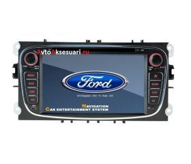 Штатная магнитола для Ford Focus 08-11 / Mondeo 07-11 / S-Max 08-11 (черная)