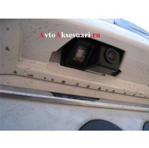 Установка камеры заднего вида мазда 3