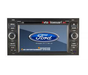Штатная магнитола для Ford Focus 05-07/ C-MAX 06-10/ Fiesta 05-08/ Fusion 05-09/ Kuga