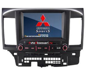 Штатная магнитола для Mitsubishi Lancer 2007-12